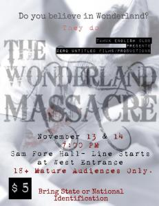 massacre flyer